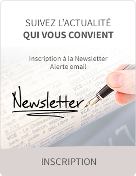 Inscription à la newsletter de l'immobilier